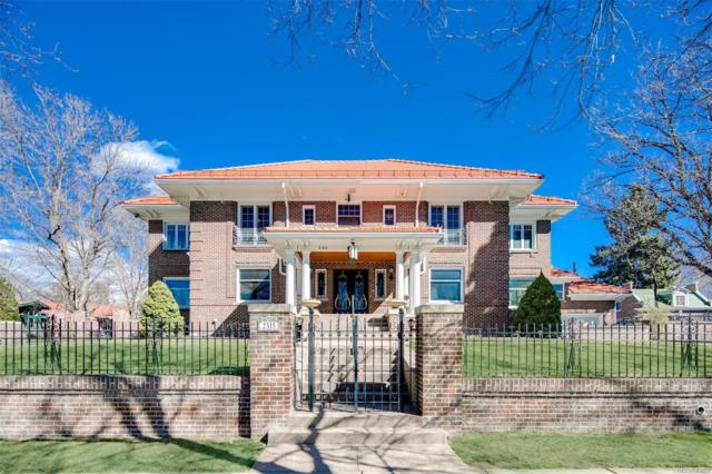 2315 E 7th Avenue Parkway, Denver, CO 80206 (#9912084) :: Wisdom Real Estate