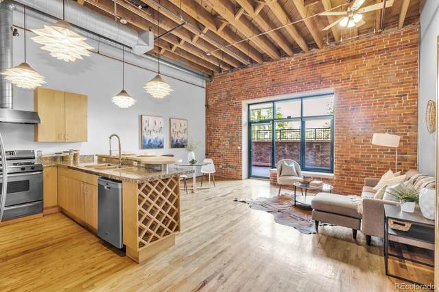 1800 Lawrence Street #103, Denver, CO 80202 (#9917861) :: The Colorado Foothills Team | Berkshire Hathaway Elevated Living Real Estate