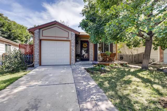 1816 Rice Street, Longmont, CO 80501 (MLS #9918827) :: 8z Real Estate