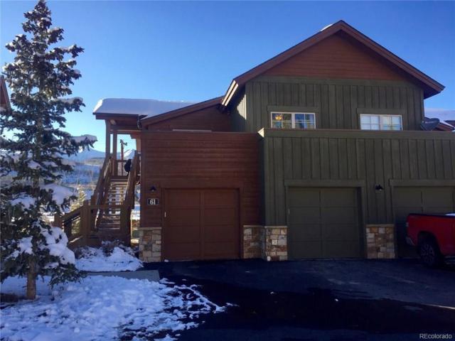 33B Dewey Placer Drive 33B, Breckenridge, CO 80424 (#9925244) :: The Griffith Home Team