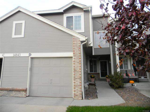 14843 E Bellewood Place D, Aurora, CO 80015 (#9925998) :: Sellstate Realty Pros