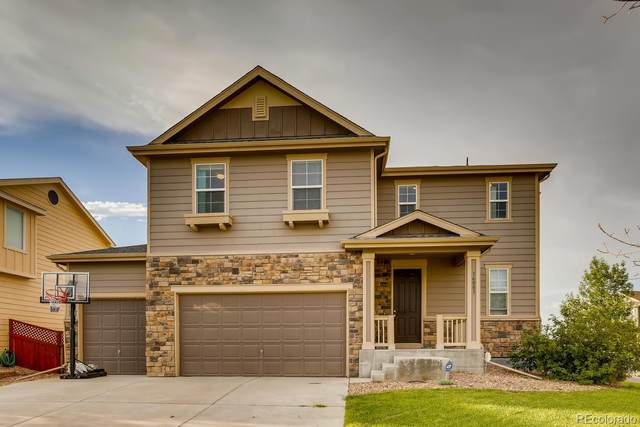 16083 E 124th Avenue, Commerce City, CO 80603 (#9926810) :: The Heyl Group at Keller Williams