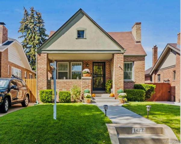 1427 Elm Street, Denver, CO 80220 (#9927474) :: The HomeSmiths Team - Keller Williams