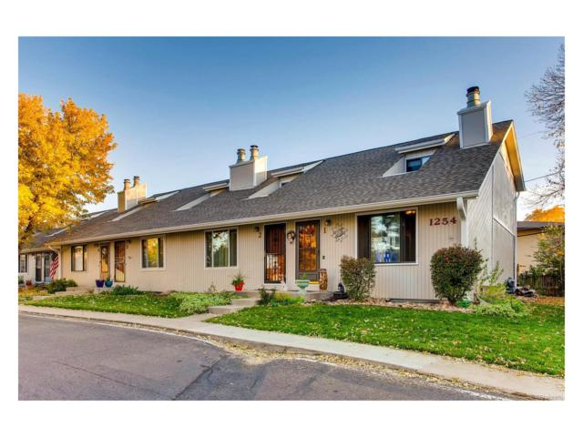 1254 S Reed Street #1, Lakewood, CO 80232 (#9931603) :: ParkSide Realty & Management