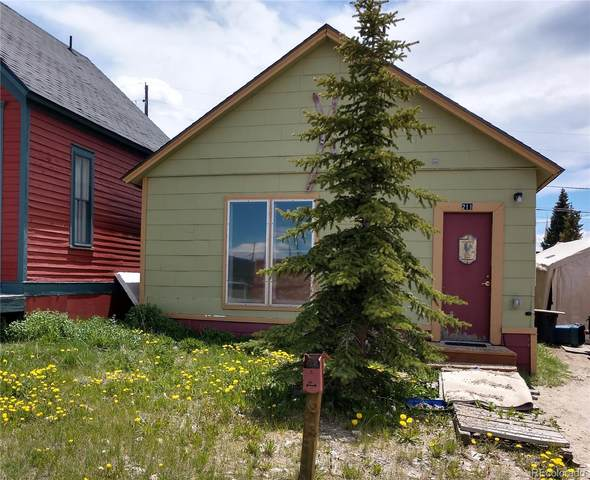 211 E 11th Street, Leadville, CO 80461 (MLS #9932332) :: Neuhaus Real Estate, Inc.