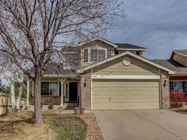 247 Masters Drive, Castle Rock, CO 80104 (#9935029) :: The Peak Properties Group