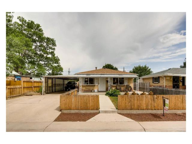126 Vrain Street, Denver, CO 80219 (MLS #9935194) :: 8z Real Estate