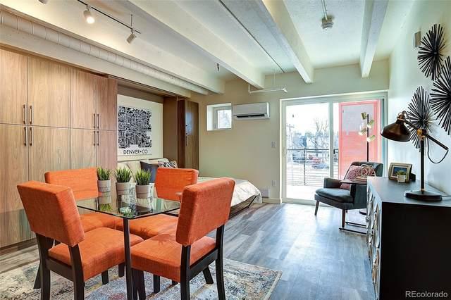 1495 N Vrain Street #117, Denver, CO 80204 (MLS #9936260) :: 8z Real Estate