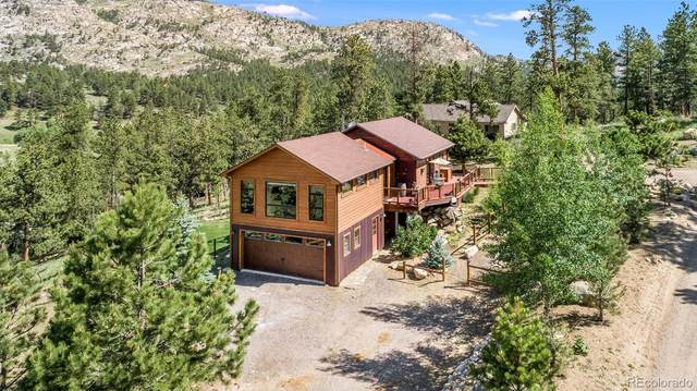 225 Spruce Mountain Drive, Drake, CO 80515 (MLS #9937397) :: Bliss Realty Group
