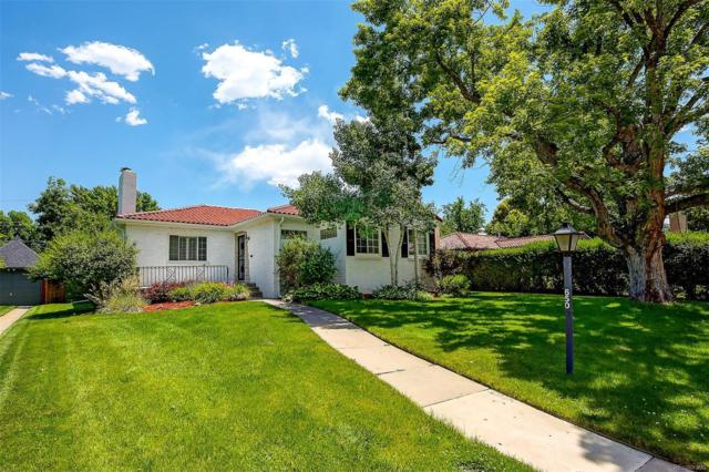650 Glencoe Street, Denver, CO 80220 (#9942557) :: Bring Home Denver