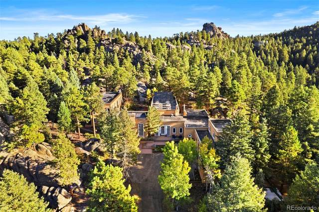 9074 Eagle Cliff Road, Conifer, CO 80433 (#9951765) :: The Colorado Foothills Team   Berkshire Hathaway Elevated Living Real Estate