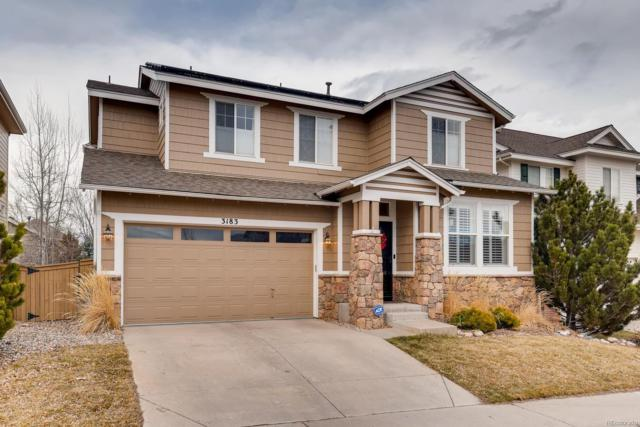 3183 Spearwood Drive, Highlands Ranch, CO 80126 (#9953201) :: The Heyl Group at Keller Williams