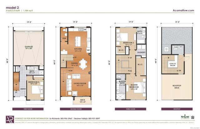 55 W 10th Avenue, Denver, CO 80204 (#9957495) :: The Griffith Home Team