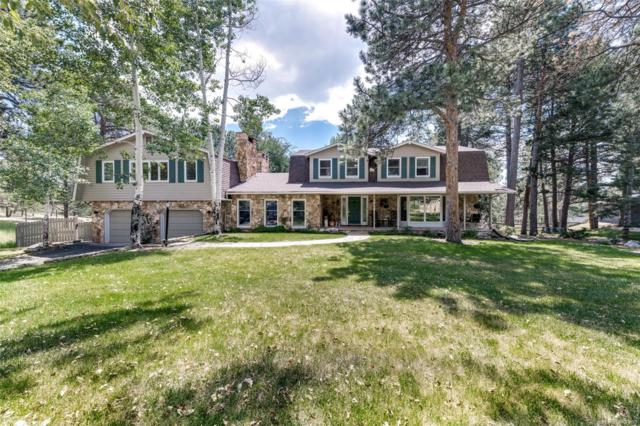 3040 Interlocken Drive, Evergreen, CO 80439 (MLS #9958722) :: 8z Real Estate