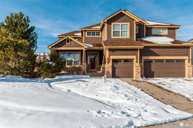 1437 Switch Grass Court, Castle Rock, CO 80109 (#9967437) :: The Griffith Home Team