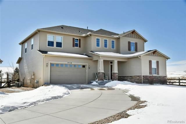 14518 Haflinger Avenue, Parker, CO 80134 (#9967594) :: The Harling Team @ Homesmart Realty Group