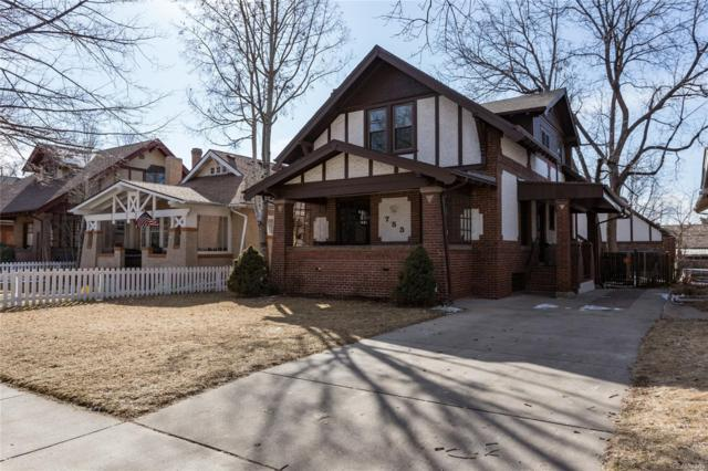 753 S Downing Street, Denver, CO 80209 (#9968561) :: The Heyl Group at Keller Williams