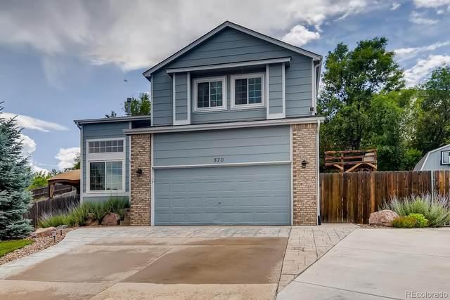 570 Crestline Drive, Colorado Springs, CO 80916 (MLS #9970512) :: 8z Real Estate