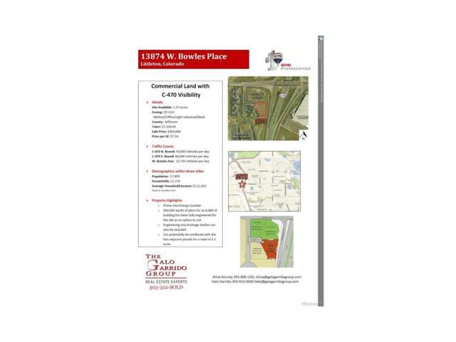 13874 W Bowles Place, Littleton, CO 80127 (MLS #9973920) :: 8z Real Estate
