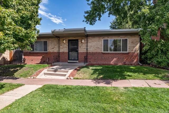 3420 Tennyson Street #103, Denver, CO 80212 (#9979627) :: RazrGroup