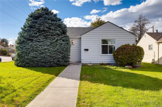 2595 S Gaylord Street, Denver, CO 80210 (#9983100) :: My Home Team