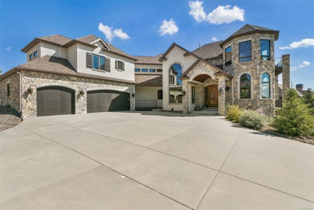 9197 Sunshine Meadow Place, Parker, CO 80134 (#9983392) :: The HomeSmiths Team - Keller Williams