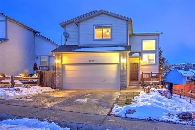 2710 Hanovertown Drive, Colorado Springs, CO 80919 (MLS #9985568) :: 8z Real Estate