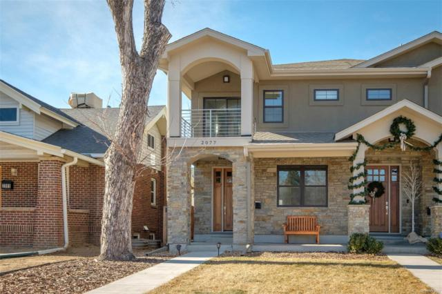 2077 S Clayton Street, Denver, CO 80210 (#9986586) :: The DeGrood Team