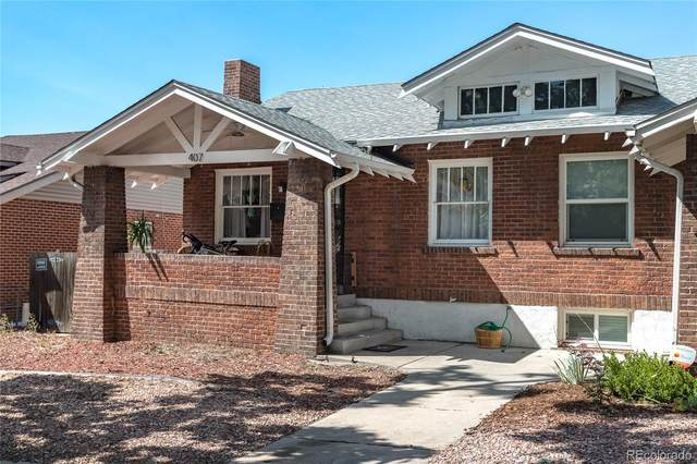 407 S Clarkson Street, Denver, CO 80209 (#9989939) :: The Brokerage Group