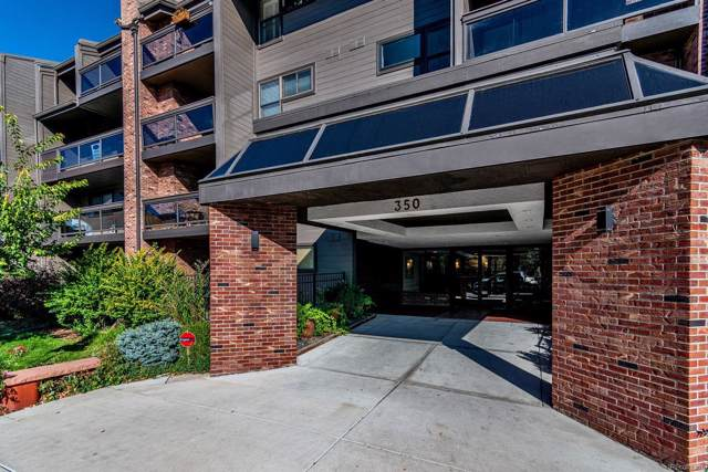 350 Detroit Street #313, Denver, CO 80206 (#9990420) :: HomeSmart Realty Group