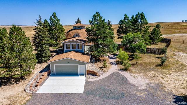 7700 Pine Crest Drive, Kiowa, CO 80117 (#9990799) :: iHomes Colorado