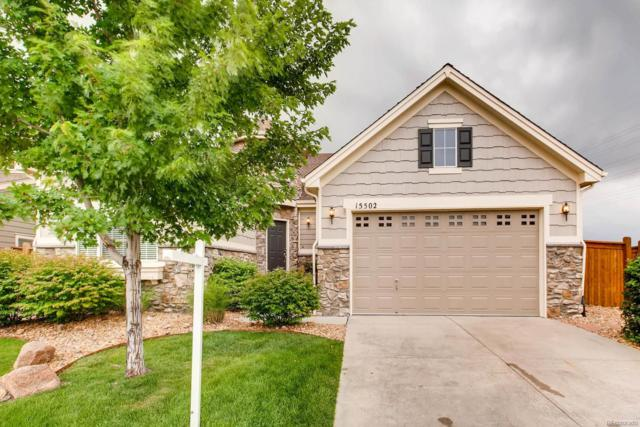 15502 E Flower Mound Place, Parker, CO 80134 (#9991341) :: The Peak Properties Group