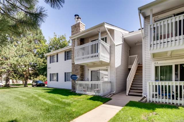 14473 E Jewell Avenue #203, Aurora, CO 80012 (MLS #9997046) :: The Space Agency - Northern Colorado Team