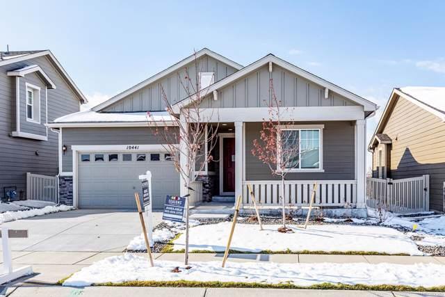 10441 Yosemite Street, Commerce City, CO 80640 (MLS #1517865) :: 8z Real Estate