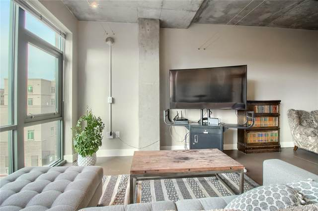 2100 16th Street #406, Denver, CO 80202 (#1524109) :: The Griffith Home Team