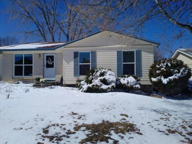 2249 S Lewiston Street, Aurora, CO 80013 (MLS #1526320) :: 8z Real Estate