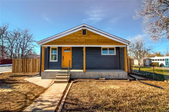 991 S Newton Street, Denver, CO 80219 (#1552655) :: My Home Team