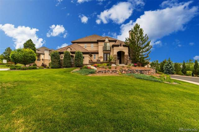 10000 S Shadow Hill Drive, Lone Tree, CO 80124 (#1554826) :: The DeGrood Team