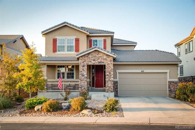 657 Meadowleaf Lane, Highlands Ranch, CO 80126 (#1557278) :: My Home Team