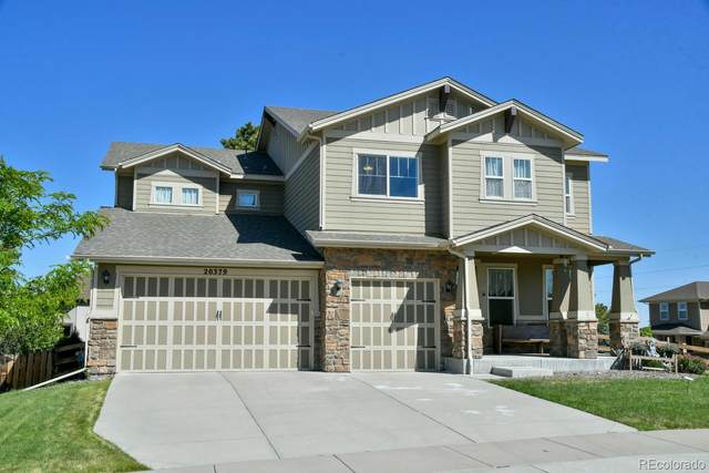 20379 Spruce Point Place, Parker, CO 80134 (#1592285) :: The HomeSmiths Team - Keller Williams