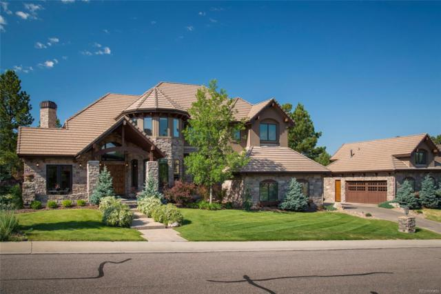 9080 Scenic Pine Drive, Parker, CO 80134 (#1598358) :: The Peak Properties Group