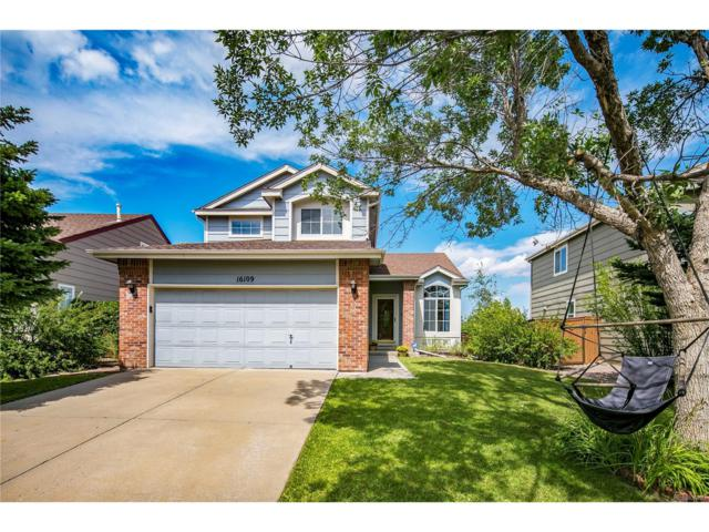 16109 Hedgeway Drive, Parker, CO 80134 (#1602083) :: The Griffith Home Team