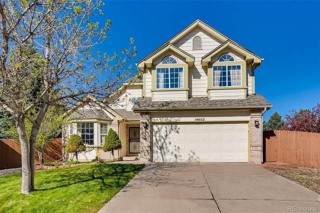 14602 E Bellewood Place, Aurora, CO 80015 (#1602205) :: The DeGrood Team