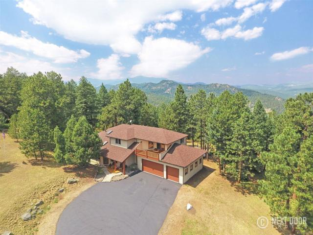 4181 Hilltop Road, Evergreen, CO 80439 (#1607552) :: The City and Mountains Group