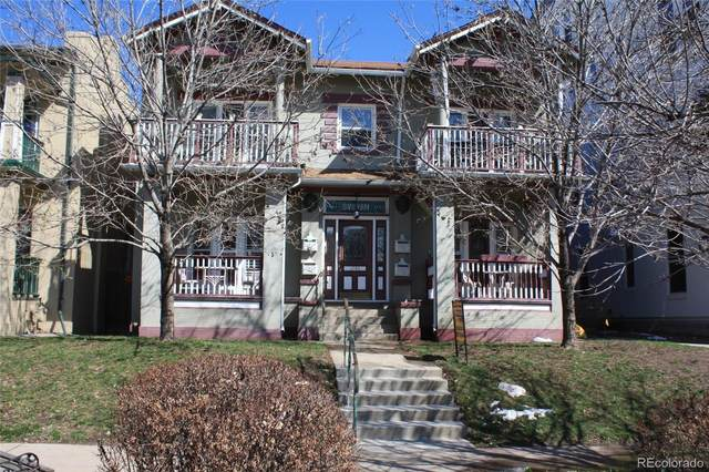 1746 N Franklin Street #1, Denver, CO 80218 (#1607637) :: HomeSmart