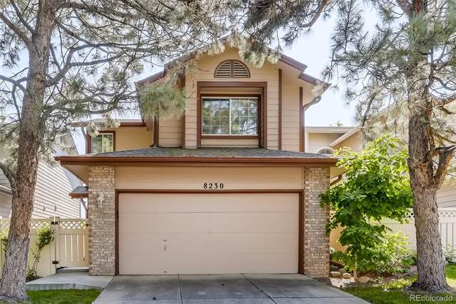 8230 S Gaylord Court, Centennial, CO 80122 (#1620779) :: The Griffith Home Team
