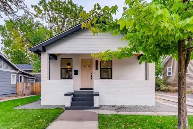 2118 S Corona Street, Denver, CO 80210 (#1656456) :: The HomeSmiths Team - Keller Williams