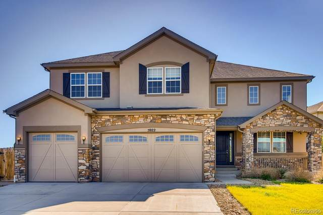 5922 S Jamestown Court, Aurora, CO 80016 (#1659149) :: The DeGrood Team