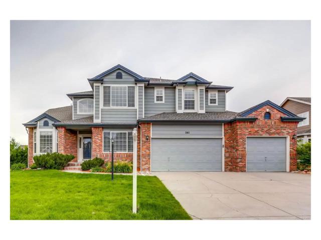 541 Rita Place, Castle Pines, CO 80108 (MLS #1675519) :: 8z Real Estate