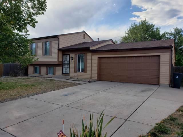 19615 E Buchanan Place, Aurora, CO 80011 (MLS #1697258) :: 8z Real Estate